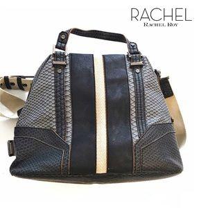Rachel Rachel Roy Snake Print  crossbody bag